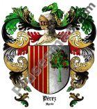 Escudo del apellido Pérez (Ayerbe)