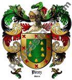 Escudo del apellido Pérez (Galicia)