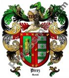Escudo del apellido Pérez (Euskadi)