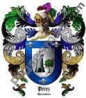 Escudo del apellido Pérez (Extremadura)