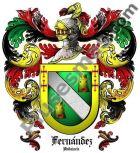 Escudo del apellido Fernández (Andalucía)