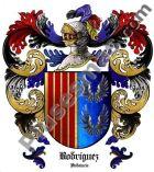 Escudo del apellido Rodríguez (Andalucía)