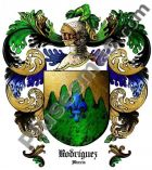 Escudo del apellido Rodríguez (Murcia)