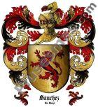Escudo del apellido Sánchez (La Rioja)