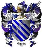 Escudo del apellido Sánchez (Galicia)