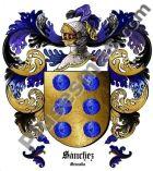 Escudo del apellido Sánchez (Granada)