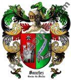 Escudo del apellido Sánchez (Castilla-La Mancha)