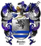 Escudo del apellido Sánchez (Andalucía)