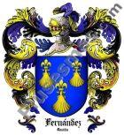 Escudo del apellido Fernández (Castilla)