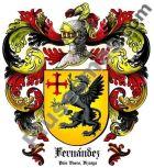 Escudo del apellido Fernández (País Vasco, Vizcaya)