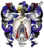 Escudo del apellido Flores (Asturias)