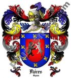 Escudo del apellido Flores (España)