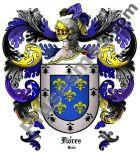 Escudo del apellido Flores (León)
