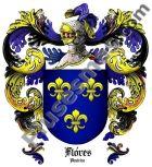 Escudo del apellido Flores (América)