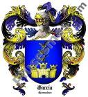 Escudo del apellido García (Extremadura, Cáceres)