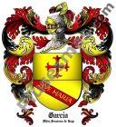 Escudo del apellido García (Alfoz, Provincia de Lugo)