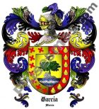Escudo del apellido García (Murcia)