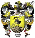 Escudo del apellido García (Cataluña)