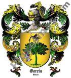 Escudo del apellido García (Galicia)