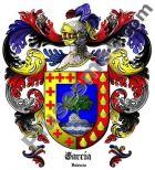 Escudo del apellido García (Valencia)