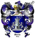 Escudo del apellido García (Málaga)