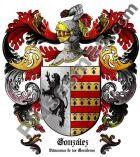 Escudo del apellido González (Villanueva de los Escuderos)