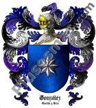 Escudo del apellido González (Castilla y León)
