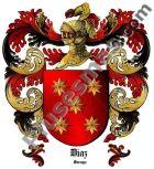 Escudo del apellido Díaz (Garayo)