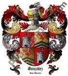 Escudo del apellido González (Islas Baleares)