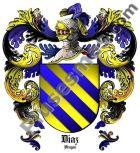 Escudo del apellido Díaz (Aragón)
