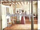Fuente interior y sala de inhalaciones, baños de montemayor (cáceres)