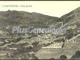 Vista general del pueblo, baños de montemayor (cáceres)