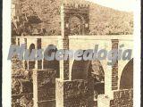Puente romano, detalle de los pilares, alcántara (cáceres)