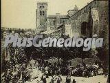 Procesión del corpillos en el real monasterio de las huelgas de burgos