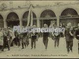 Portería del monasterio y procesión del corpillos de las huelgas de burgos