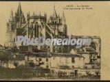 Vista panorámica del ábside de la catedral de león