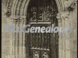 Puerta de la sala capitular de la catedral de león