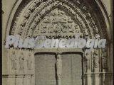 Puerta sur de la catedral de león