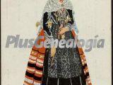 Vestimenta típica de la mujer de segovia