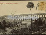 Vista general del acueducto de segovia