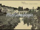 Vista del río edesma y casa de la moneda de segovia