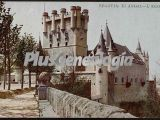 El alcázar de segovia (en color)