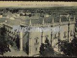 Vista aérea del museo provincial de bellas artes de valladolid