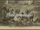 Academia de caballería en el nacimiento del ebro de valladolid