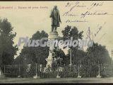 Estatua del poeta zorrilla en valladolid
