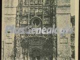 Fachada de la iglesia de san pablo de valladolid