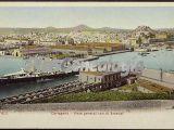 Vista general con el arsenal, cartagena (murcia)