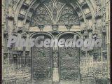 Catedral puerta principal, oviedo (asturias)