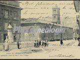 Plaza de riego y universidad, oviedo (asturias)