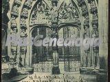 Entrada a la capilla de rey casatro (catedral), oviedo (asturias)